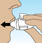 How to Use SPIRIVA HANDIHALER, Step 4 Breathe In Deeply